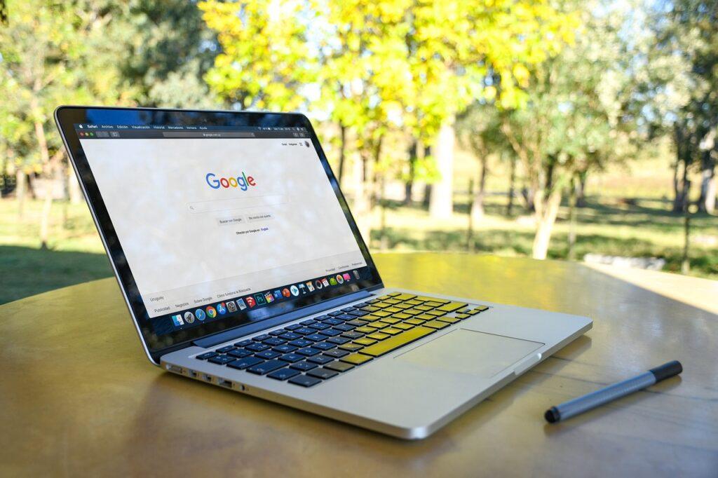 macbook, apple, work